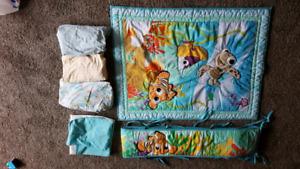 Finding Nemo crib set
