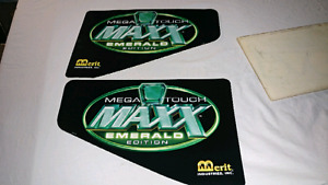 Megatouch stickers Emerald