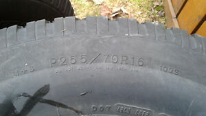 P256/70r/16 Wranglers mud and snow