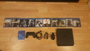PS4 Slim 500GB + games $500 FIRM