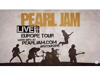2 Pearl Jam Tickets - 17th of July, 02 London