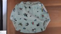 3 Mother-ease Airflow Diaper Covers - Medium & X-Small