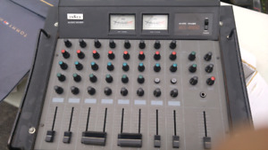 Old Audio Mixer