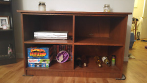 REDUCED PRISE** Heavy great quality wooden TV stand
