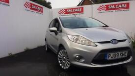 2009 09 FORD FIESTA 1.4 TITANIUM 5 DOOR.GREAT LOOKING CAR.FULL FORD S/H.FINANCE.