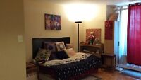 1 room studio fully equipped for rent June 15 2015 to 30-May-16