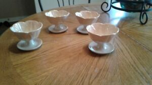 Beswick Flower Bowls - Set of 4