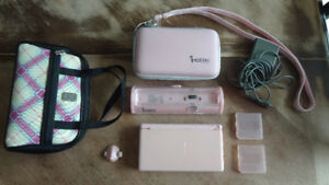 Pink Nintendo DS Lite Video Game System w/Extras USG-001