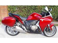 2013 (13) Honda VFR1200F-D, Candy Red