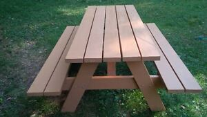 NEW 6' SPRUCE PICNIC TABLE Kitchener / Waterloo Kitchener Area image 2