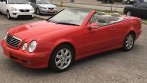 2002 Mercedes-Benz CLK-Class Certified and E-tested