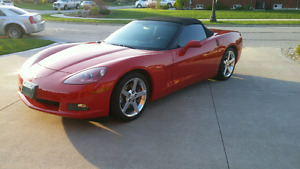 2006 Chevrolet Corvette Convertible! UNDER 21,000kms
