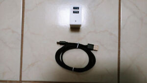 Cell Phone Charger & USB-C Cable [Android & Fast\Quick Charger]