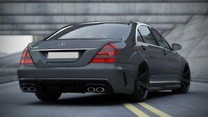 Heck Stoßstange für Mercedes S Klasse W221 Heckschürze S63 S65 AMG Benz hinten
