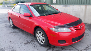 2008 MAZDA 6 4CL automatic safety $2750