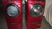 Maytag 5000 series Washer & Dryer with stands