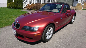 2001 BMW Z3 Roadster Convertible