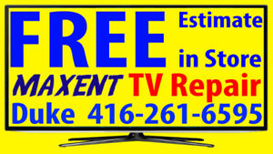 Maxent TV repair LED HDTV, LCD TV, NO POWER, No Picture