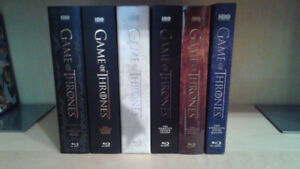 Game of Thrones / Le Trône de Fer - Seasons 1-6 Blu-ray Like New