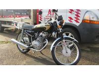Baotian BT125-4P. BROS A125, 125 Learner Legal. Commuter. Work Bike