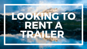 Looking to rent an RV for long weekend in August