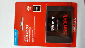 480GB Solid State Drive SSD Hard Drive- New- Factory sealed