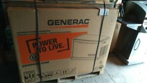 GENERAC 16KW Generator and 100 Amp Transfer Switch Brand New!!