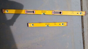 """48"""" and 24"""" Stabila Professional magnetic levels-made in Germany"""