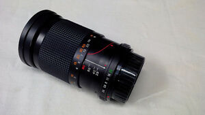 objectif grand angle (28-80mm) pour appareil photo 35 mm
