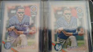 Josh Donaldson 2018 Gypsy Queen Capless Logo Swap Variations