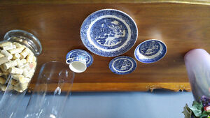 Blue Willow China *service for 8*