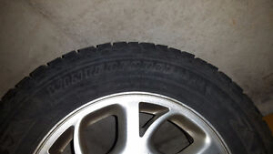 GREAT DEAL ON A Set of 4 Firestone Winterforce tires on rims. London Ontario image 3