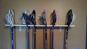 brand new lacrosse sticks