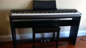 Casio Privia 130  88 Keys with stand and stool
