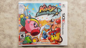 Kirby Battle Royal 3DS Game