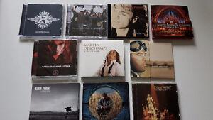 cd à vendre, la majorité comme neufs