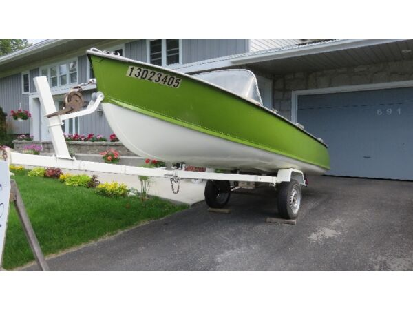 Used 1992 Other Metal Boat Co. Aluminium 16 pieds à Double