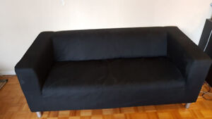 Cheap Coach and Coffee Table. Moving Sales