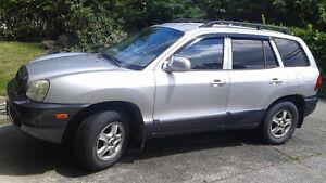 2001 Hyundai Santa Fe GL SUV, Crossover
