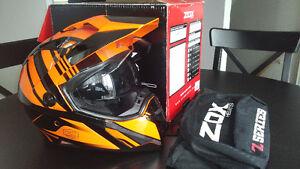 Casque KTM Orange Z-DS10 ZOX, Large, Neuf.Faite une OFFRE!!