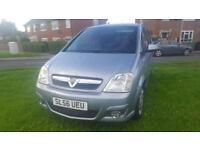Vauxhall Meriva 1.7CDTi 16v ( a/c ) Design 5 DOOR - 2006 56-REG - 11 MONTHS MOT
