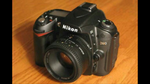 Nikon D90 with 50mm lense