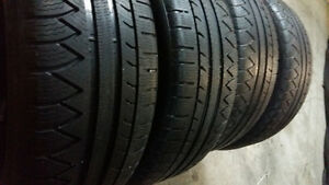 WINTER TIRES  225/50 /17  .(..SET OF 4TIRES $175)