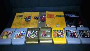 N64 Games with Manuals - Various Prices