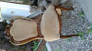 Antique circa 1923 dining chairs