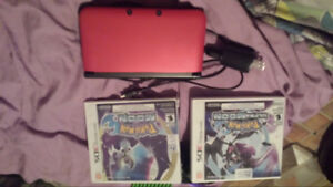 3ds and 2 Pokémon games (together only)