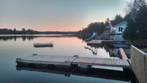 July and August Cottages Available on the French River
