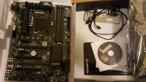 New GIGABYTE Z170 XP SLI LGA 1151 motherboard with warranty