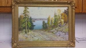 Reginald Franklin Selfe antique oil painting