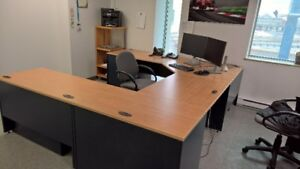 Office Desk U-Shape